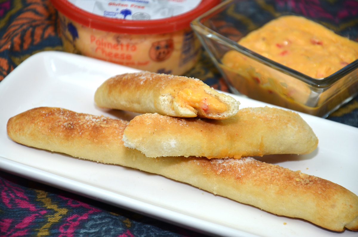 Cheese Stuffed Breadsticks
