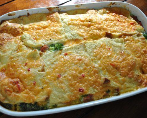 Palmetto Pimento Cheese broccoli casserole