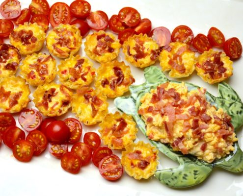 Palmetto Pimento Cheese Phyllo Cups
