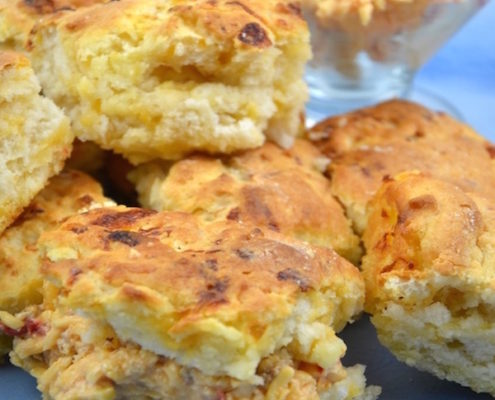 Palmetto Pimento Cheese Biscuits