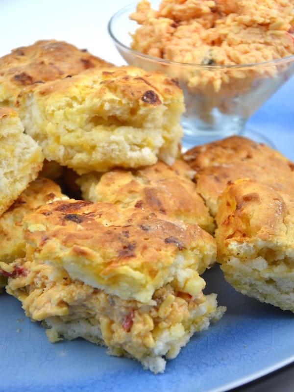 Palmetto Pimento Cheese Biscuits