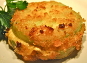 Palmetto Cheese Fried Green Tomatoes
