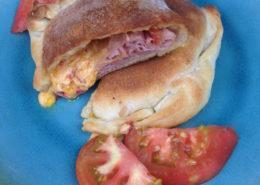 Ham and Palmetto Cheese Turnover