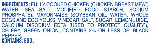 Palmetto Chicken Salad ingredients