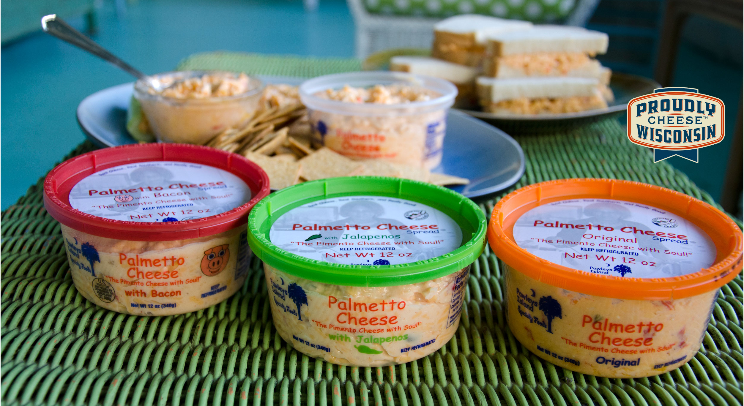pimento cheese palmetto cheese wisconsin dairy